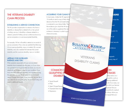 Download Our Brochure on Veterans Disability